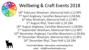 wellbeing & craft dates 2018